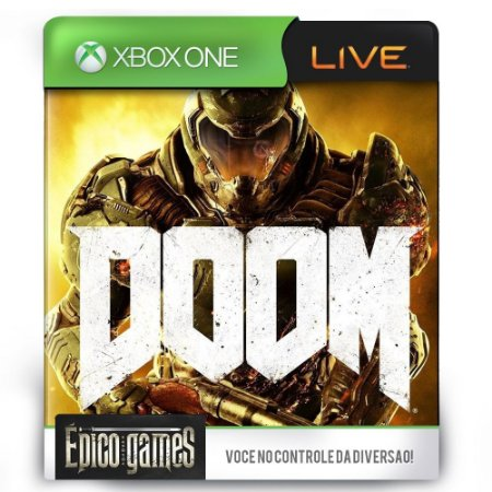 Doom - Xbox One - Midia Digital