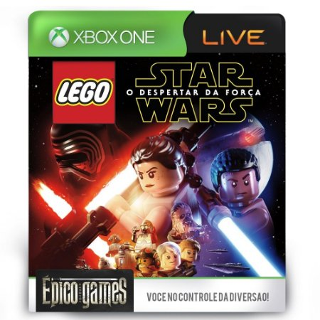 LEGO Star Wars The Force Awakens - Xbox One - Midia Digital
