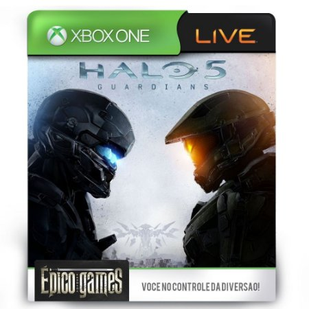 Halo 5 Guardians - Xbox One - Midia Digital