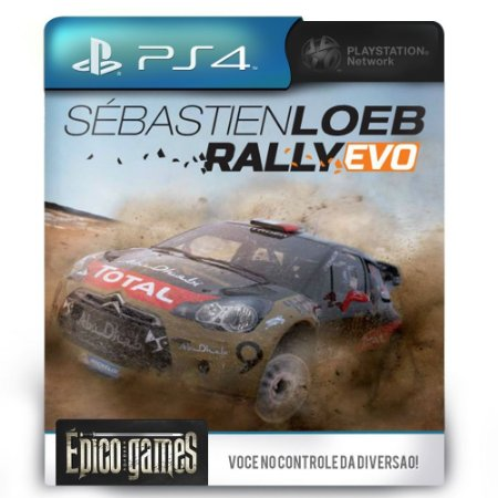 Sébastien Loeb Rally EVO - PS4 - Midia Digital