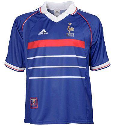 6b9656d734 Camisa Seleção da França Retrô-Copa de 1998-Frete Grátis - Amo Futebol