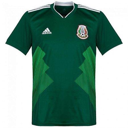 Camisa Adidas Seleção do México Home 2018 2019- S Nº - Amo Futebol 221cf06b57a33