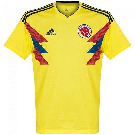 Camisa Adidas Seleção da Colombia Home 2018 2019- S Nº - Amo Futebol d87a4dd0de437