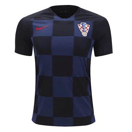 4b0936db9 Camisa Seleção da Croacia Away 2018 2019-S N - Amo Futebol