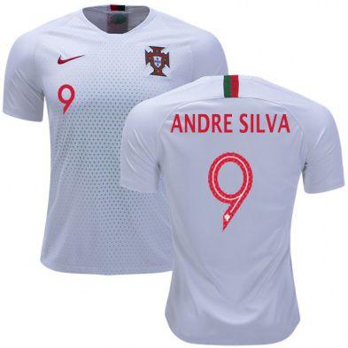 d6d202b7f5 Camisa Seleção de Portugal Away 2018/2019-Andre Silva Nº9 - Amo Futebol