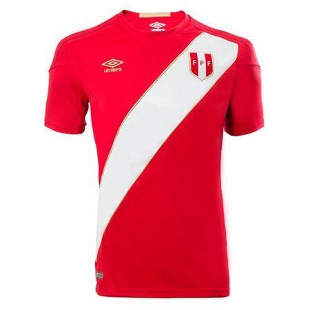 Camisa Seleção do Peru Away 2018 2019-S Nº - Amo Futebol 786c46c5272a4