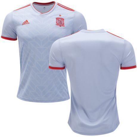 Camisa Seleção da Espanha Away 2018 2019-S Nº - Amo Futebol 5fa9f862a5298