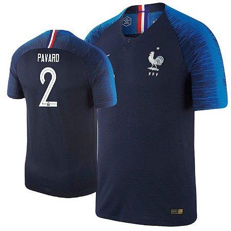 9cbe1ce1ba740 Camisa Seleção da França Home 2018 2019-Pavard Nº2 - Amo Futebol