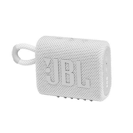 Caixa de Som Bluetooth JBL GO 3 - Branca