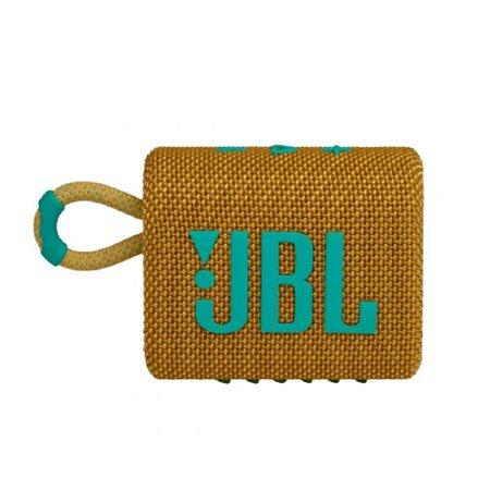 Caixa de som JBL GO 3 portátil - Amarela