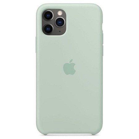 Capa de silicone para iPhone 11 Pro - Azul Berilo