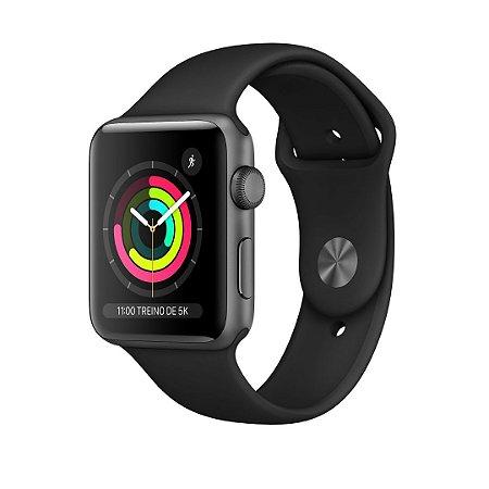 Apple Watch -  Serie 3 - 42mm - Space Gray Aluminum Black