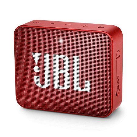 Caixa de som JBL GO 2 portátil - Vermelha