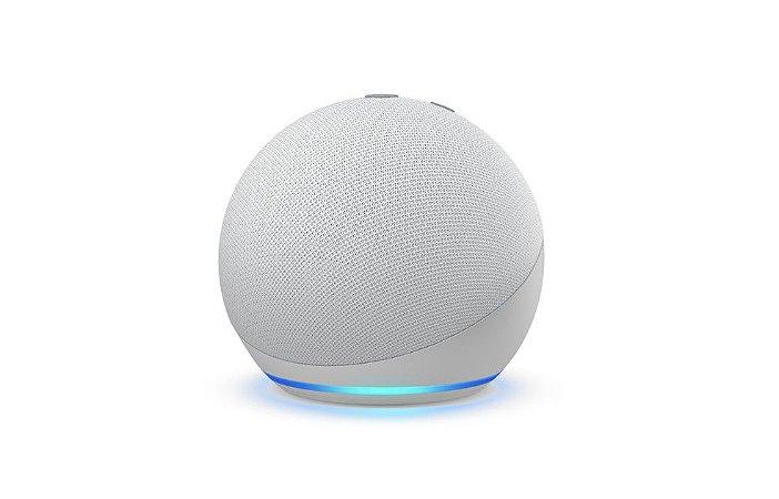 Amazon Echo Dot 4° Geração Alexa - Branca