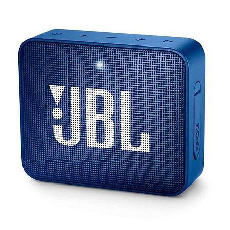 Caixa de som JBL GO 2 portátil - azul