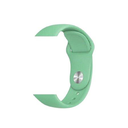 Pulseira Verde Agua para Apple Watch 42/44mm