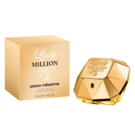 Paco Rabanne Lady Million - Perfume Fem 50ml