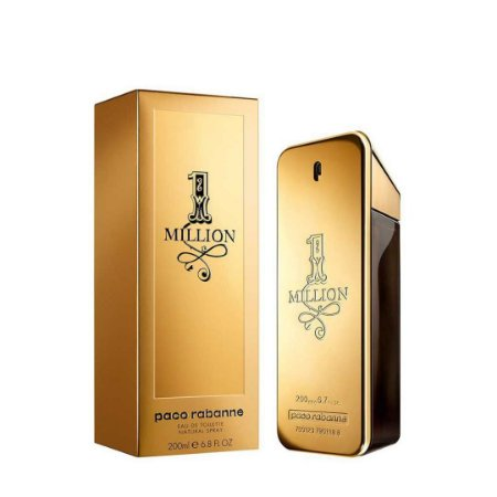 Perfumes Paco Rabanne One Million Edt Masculino 200Ml