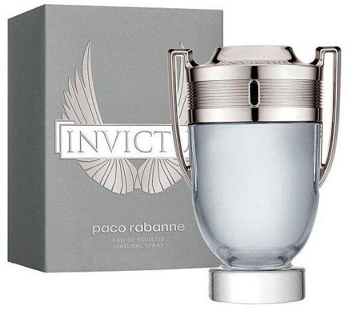 Perfume Paco Rabanne Invictus Eau De Toilette Masculino 100ml