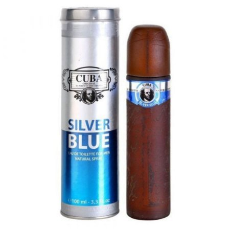 Perfume Cuba Silver Blue Masc - 100ml