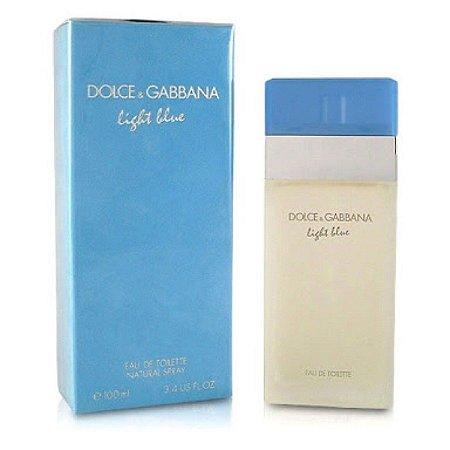 Perfume Dolce & Gabbana Light Blue Fem Edt 100Ml