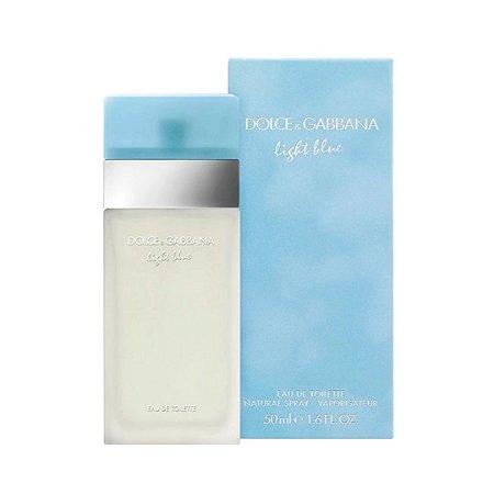 Perfume Light Blue Edt Feminino 50Ml Dolce E Gabbana