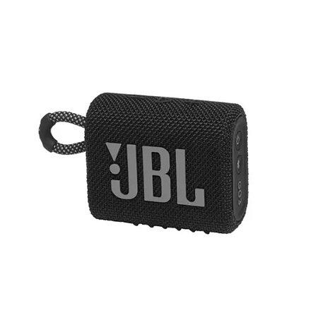 Caixa de som JBL GO 3 portátil - Preto