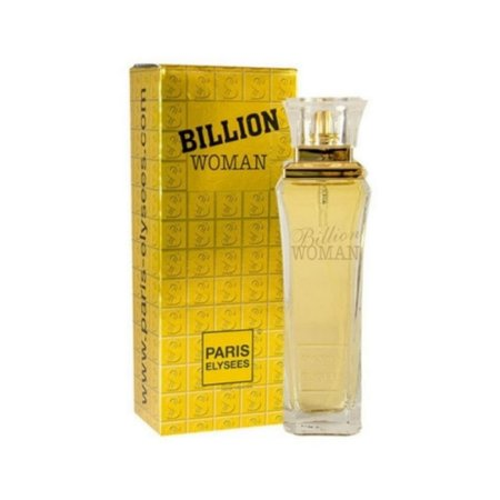Perfume Billion Woman Paris Elysees Eau de Toilette 100ml