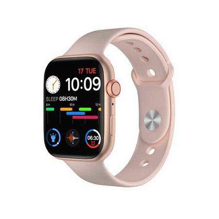 Relógio Smartwatch IWO FK88 Rosa (44MM)