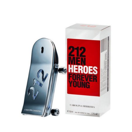 Perfume Masculino 212 Men Heroes Carolina Herrera EDT 90mL