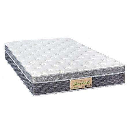 Colchão Solteirão Sankonfort Sleep Fresh Molas Ensacadas (96x203x30)