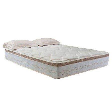 Colchão Casal Herval de Mola Pocket Supreme Pillow Top 33x138x188
