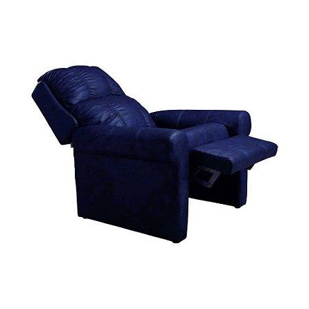 Poltrona Reclinável Herval MH 1216 Azul