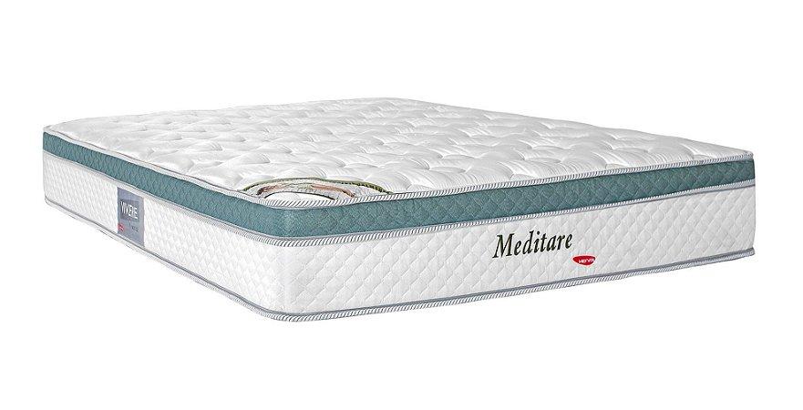 Colchão Queen Herval Molas Pocket Meditare 158x198x29