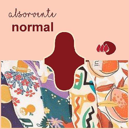 Absorvente Korui Normal - Estampado