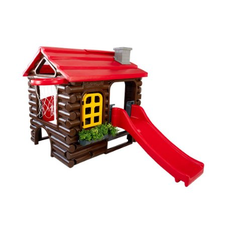 Casinha de Brinquedo e Boneca Freso Chalé Royale Floresta