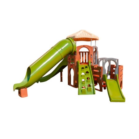 Playground DinoPlay Freso com Escorregador Infantil Tubo