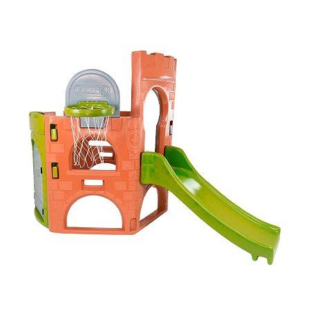 Playground Mini DinoPlay Freso com Escorregador Infantil