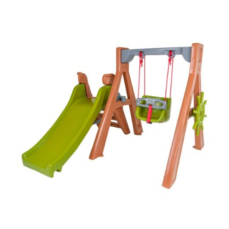 Playground Baby DinoPlay Freso com Gangorra e Escorregador Infantil