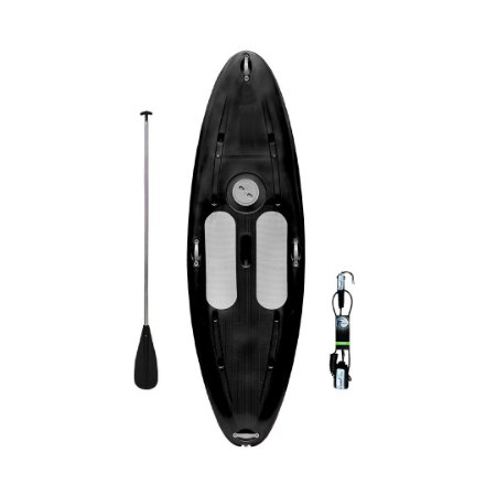 Prancha Stand Up Paddle com Remo e Leash Preto Freso