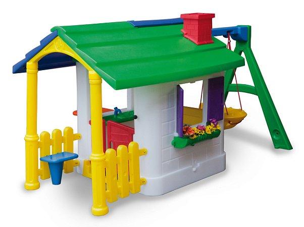 Casinha de Brinquedo e Boneca Freso de Campo com Kit Fly