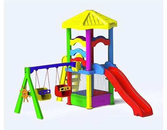 Playground Millenium Fly Freso com Escorregador Infantil