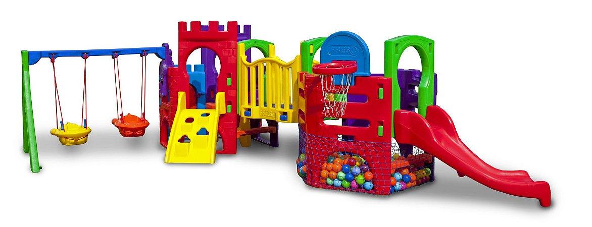 Playground Petit Play Festa com Balanço Freso