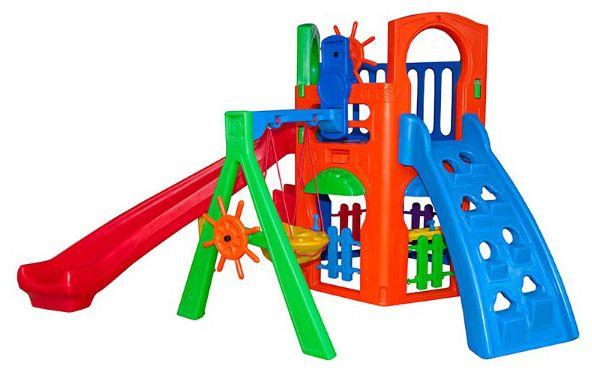 Playground Royal Play House com Kit Fly Freso