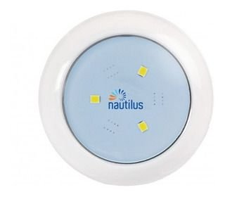 Luz de LED azul 3W 12V 63MM 3/4 NAUTILUS