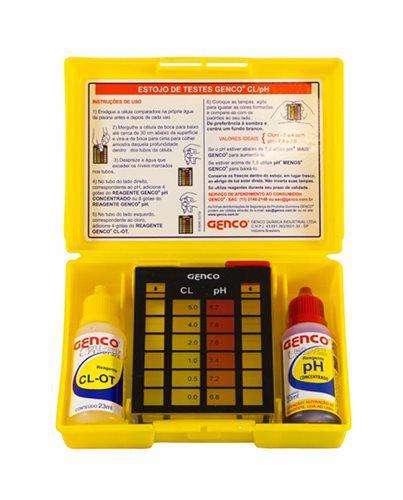 Estojo de Teste CL/pH Genco