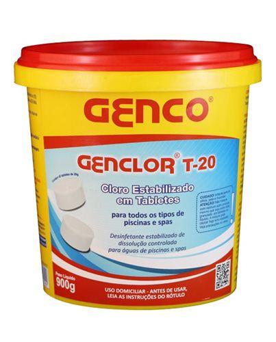 Genclor Tabletes T-20 900gr Genco