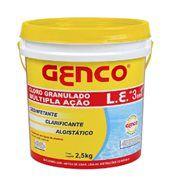 Cloro granulado múltipla ação 10Kg Genco