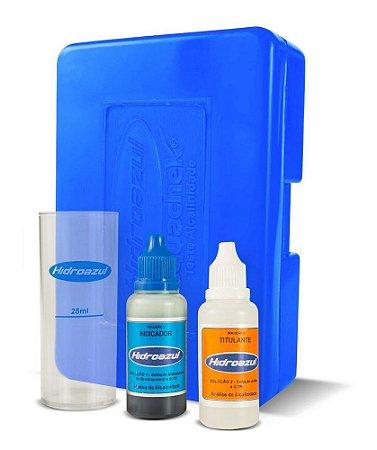 Kit Teste Alcalinidade Hidroazul