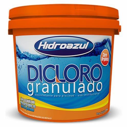 Dicloro granulado balde 2,5Kg Hidroazul